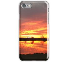 Sunset over Rathluba 10 iPhone Case/Skin