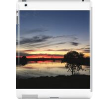 Sunset over Rathluba 11 iPad Case/Skin