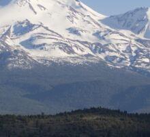 Mt. Shasta from Highway 97 Sticker