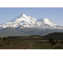 Mt. Shasta from Highway 97 Photographic Print