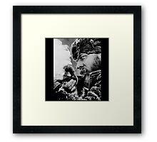 The Revenant Tom Hardy in action Framed Print