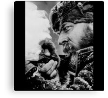 The Revenant Tom Hardy in action Canvas Print