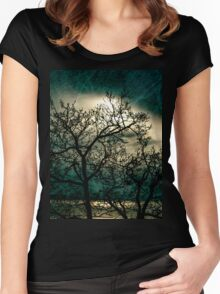 Landscape in a dream Women's Fitted Scoop T-Shirt