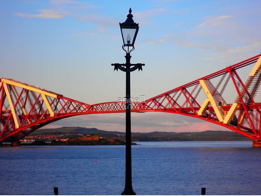 Bridging the Gap ~ Forth Rail Bridge ~ South Queensferry  by ©The Creative  Minds