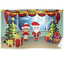 Santa and Mrs Claus in the House 2 Poster