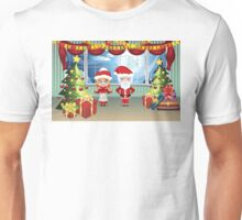 Santa and Mrs Claus in the House 2 Unisex T-Shirt