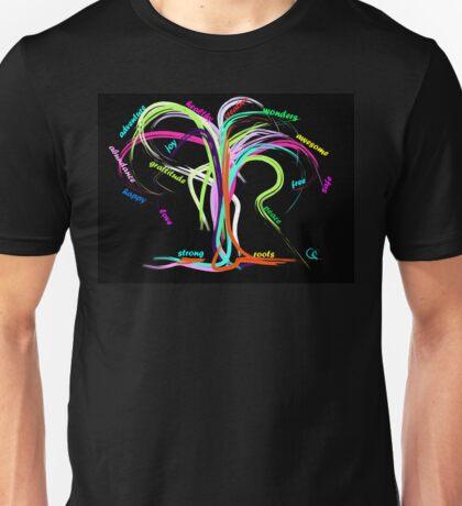 Awesome New Year Tree Unisex T-Shirt