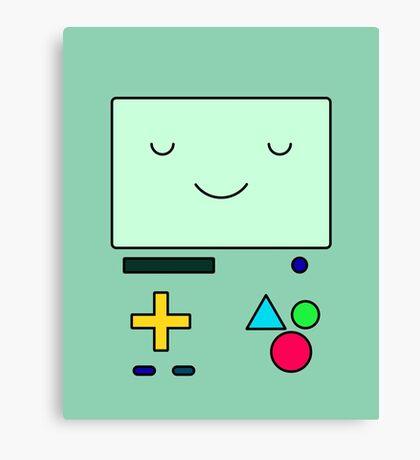 Adventure Time BMO Canvas Print