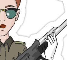 Cadet Girl Sticker