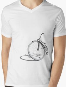 Retro Bike Mens V-Neck T-Shirt