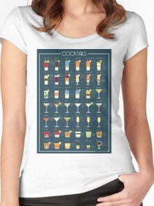 Cocktails Women's Fitted Scoop T-Shirt