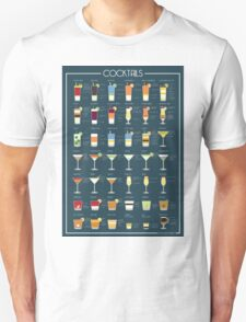 Cocktails Unisex T-Shirt