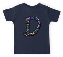 Letter D Kids Tee