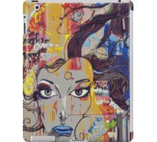 Abstract Mural iPad Case/Skin