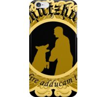 Schutzhund Gold Bark and Hold iPhone Case/Skin