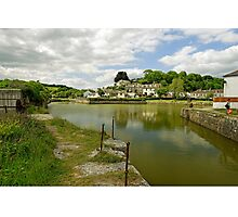 The Harbour With No Boats, Pentewan Photographic Print