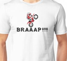 Pixelated Dirt Bike, BRAAAP Unisex T-Shirt