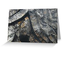 The Force of Stone Greeting Card