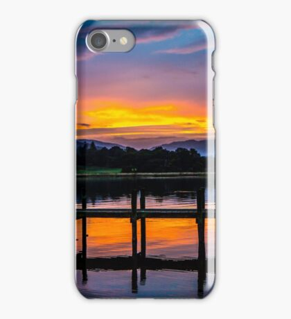 Bowness sundown iPhone Case/Skin