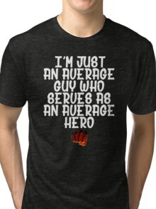 One Punch Man Saitama Quote 2 Tri-blend T-Shirt
