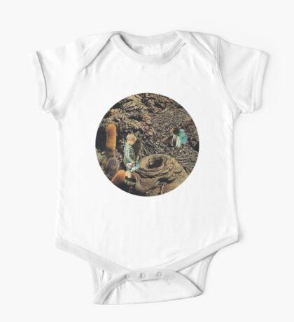 Looking for the lost toys, Vintage Collage One Piece - Short Sleeve