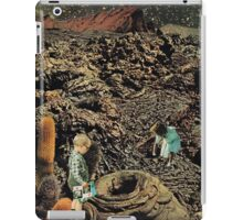 Looking for the lost toys, Vintage Collage iPad Case/Skin