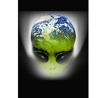 alien earth Photographic Print