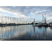 Solo Sail Photographic Print