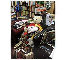 A Very Bookish Teddy Poster