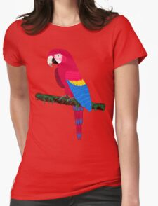 Red Ara Womens Fitted T-Shirt