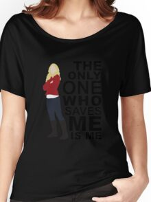 Emma Swan - Only One Who Saves ME Women's Relaxed Fit T-Shirt