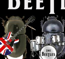 Beetles on the Road Sticker