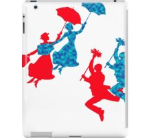 Blue and Red Mary Poppins  iPad Case/Skin