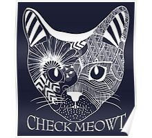 Check Meowt. Poster