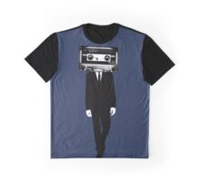 Retro tape head Graphic T-Shirt