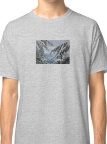 Pine Trees and Snow Season's Greetings From Fethiye Classic T-Shirt