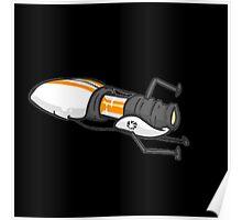 Orange portal gun Poster