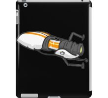 Orange portal gun iPad Case/Skin