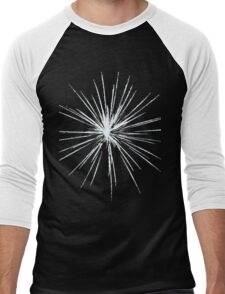 HAPPY BIRTHDAY Fireworks Men's Baseball ¾ T-Shirt