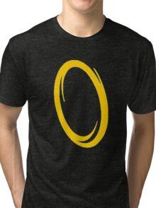Orange portal Tri-blend T-Shirt