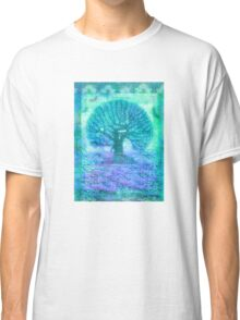 Tree of Life mixed media Classic T-Shirt