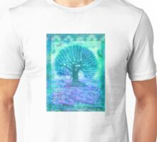 Tree of Life mixed media Unisex T-Shirt