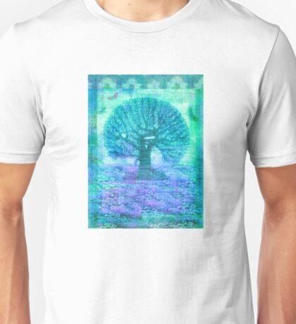 Tree of Life mixed media Unisex T-Shirt