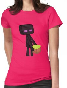 Enderman Minecraft Womens Fitted T-Shirt