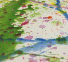 A splash of colour Sticker