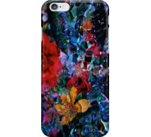Abstract droplets iPhone Case/Skin