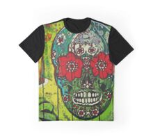 Sugar Skull streetart graffiti Graphic T-Shirt