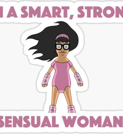 Tina Smart Strong Sensual woman Sticker