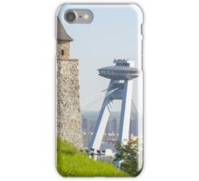 Two Faces of Bratislava iPhone Case/Skin
