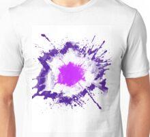 Splatter Purple Unisex T-Shirt